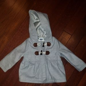 Old Navy Toddler Girl's Peacoat with Hood